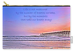 Life Is Measured Carry-all Pouch by Shelia Kempf