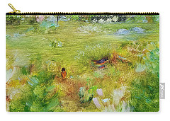 Carry-all Pouch featuring the painting Life Lessons by Judith Rhue