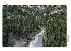 Life Line Of The Valley Carry-all Pouch by Ryan Weddle