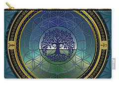 Life Mandala Carry-all Pouch