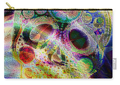 Carry-all Pouch featuring the digital art Life Of The Party by Kiki Art