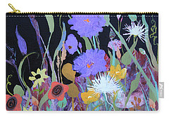 Carry-all Pouch featuring the painting Life On A Summer's Day by Robin Maria Pedrero