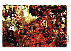 Life On Mars Carry-all Pouch by The Art Of JudiLynn