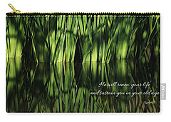 Carry-all Pouch featuring the photograph Life Renewed by Lynn Hopwood