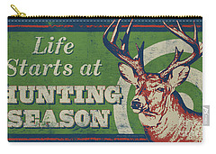 Life Starts Hunting Season Carry-all Pouch