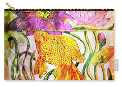 Life Underwater Carry-all Pouch by Maria Urso