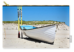 Lifeboat And Oars Carry-all Pouch