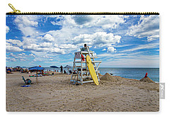 Lifeguard At Pike's Beach Carry-all Pouch