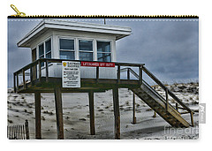 Lifeguard Station 1 Carry-all Pouch by Paul Ward