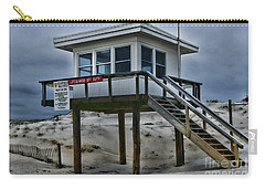Lifeguard Station 2  Carry-all Pouch by Paul Ward