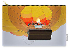 Carry-all Pouch featuring the photograph Liftoff by AJ Schibig