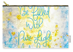 Light And Love Carry-all Pouch