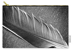 Carry-all Pouch featuring the photograph Light As A Feather by Karen Stahlros