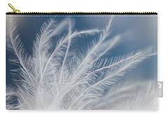 Carry-all Pouch featuring the photograph Light As A Feather by Yvette Van Teeffelen