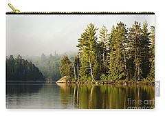 Light Fog On Slim Lake Carry-all Pouch