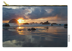 Carry-all Pouch featuring the photograph Light In The Dark by Patricia Davidson