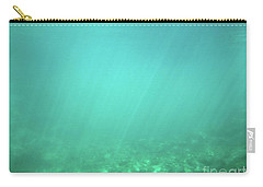 Carry-all Pouch featuring the photograph Light In The Water by Francesca Mackenney