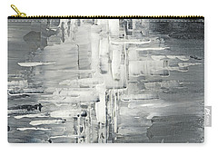 Carry-all Pouch featuring the painting Light Into The Darkness by Tatiana Iliina