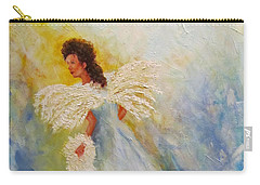 Light Of Grace,angel Carry-all Pouch