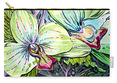 Light Of Orchids Carry-all Pouch