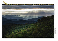 Light On The Mountains Carry-all Pouch
