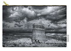 Carry-all Pouch featuring the photograph Light On The Rock by John A Rodriguez