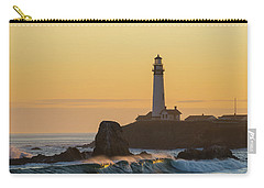 Light On The Waves Carry-all Pouch