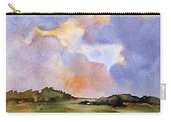 Light Over The Hills Carry-all Pouch by Rae Andrews