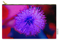 Light Purple Puff Explosion Carry-all Pouch