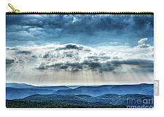 Carry-all Pouch featuring the photograph Light Rains Down by Thomas R Fletcher
