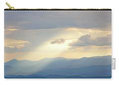 Light Ray Sunset Carry-all Pouch by Meta Gatschenberger