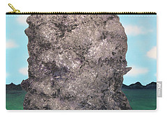 Carry-all Pouch featuring the painting Light Rock by Thomas Blood