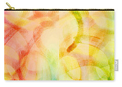 Carry-all Pouch featuring the painting Light Soul by Lucia Sirna