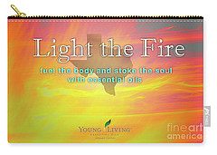 Carry-all Pouch featuring the photograph Light The Fire by Cheryl McClure