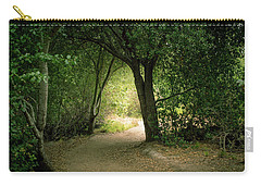 Light Through The Tree Tunnel Carry-all Pouch