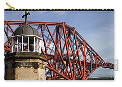 Carry-all Pouch featuring the photograph Light Tower by Jeremy Lavender Photography
