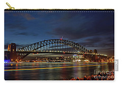 Light Trails On The Harbor By Kaye Menner Carry-all Pouch