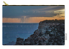 Carry-all Pouch featuring the photograph Light Up The Sky by Gaelyn Olmsted