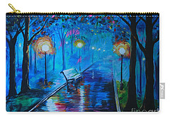 Lighted Parkway Carry-all Pouch by Leslie Allen