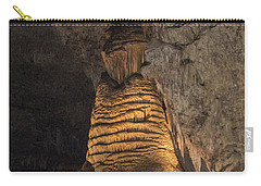 Lighted Stalagmite Carry-all Pouch by James Gay