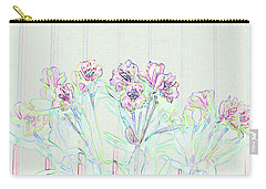 Lighter Side Azaleas Carry-all Pouch by Ellen O'Reilly