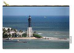Lighthouse At Hillsboro Beach, Florida Carry-all Pouch