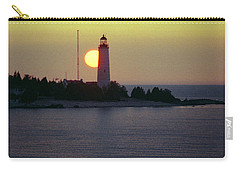 Lighthouse At Sunset Carry-all Pouch