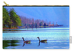 Lighthouse Geese, Smith Mountain Lake Carry-all Pouch