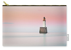 Carry-all Pouch featuring the photograph Lighthouse Hues by Grant Glendinning