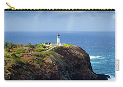 Lighthouse On A Cliff Carry-all Pouch