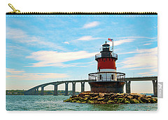 Lighthouse On A Small Island Carry-all Pouch