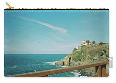 Lighthouse Over The Ocean Carry-all Pouch