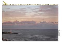 Lighthouse Peach Sunset Carry-all Pouch