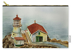 Lighthouse Point Reyes California Carry-all Pouch